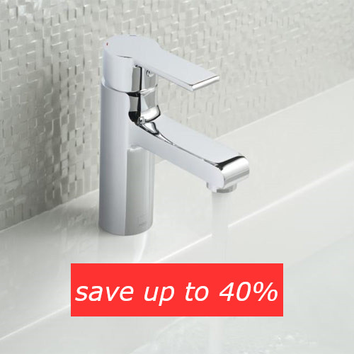 Save up to 40% on basin taps in the Summer Sale event