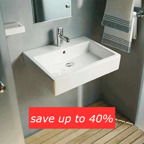 Save up to 40% on basins in the Summer Sale