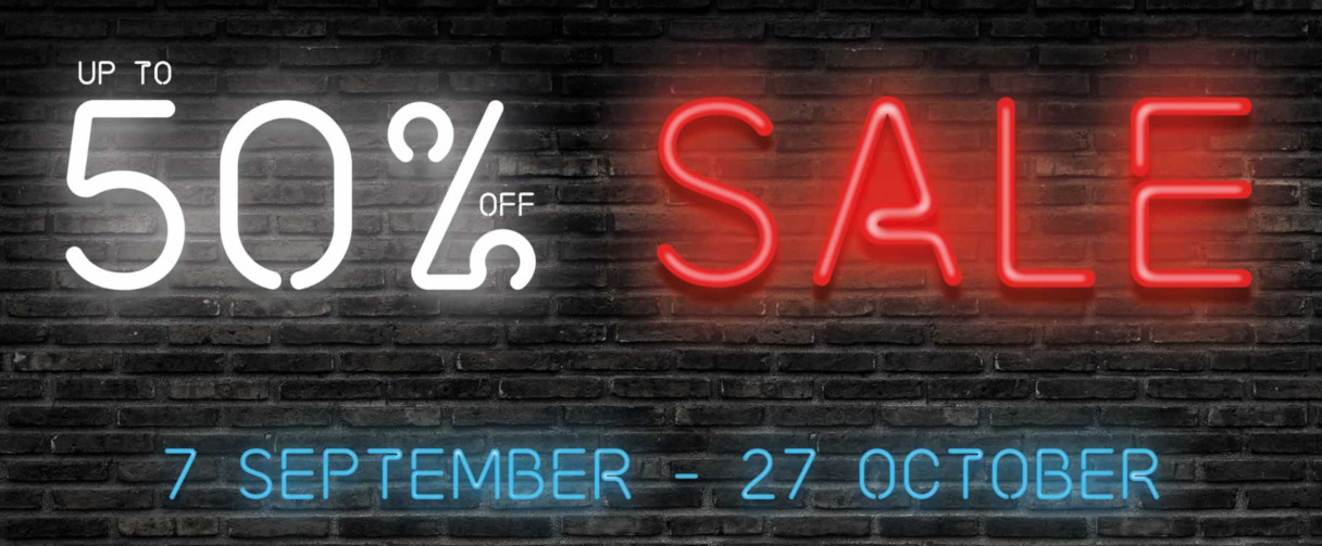 Save up to 50% in the 2019 Big Bathroom Sale