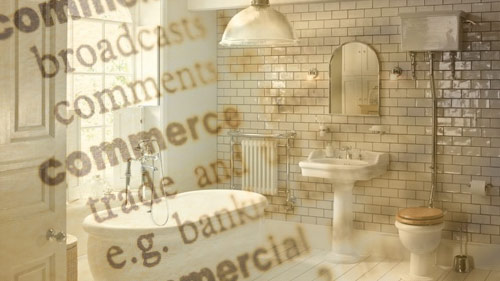 Bathroom Glossary