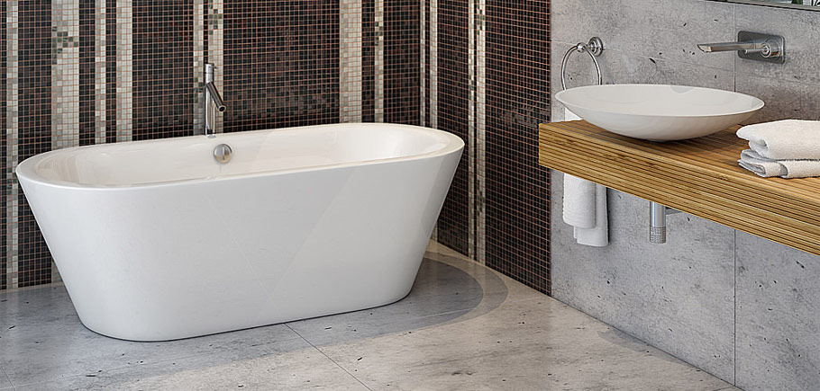 Baths, Bath Screens, Panels & Accessories
