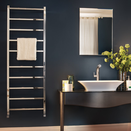 Bisque Heated Towel Rails