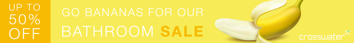 Save up to 50% in the Crosswater sale, finishes 21st November