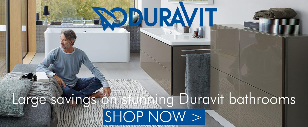 Big savings on Duravit bathrooms