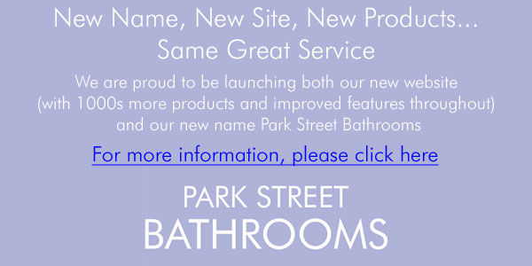 Park Street Bathrooms - Our new website