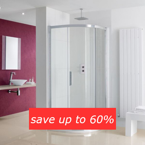 Save up to 60% on shower enclosures in the Summer Sale