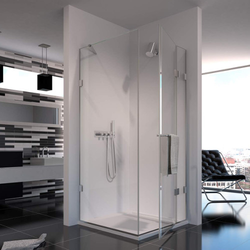 The ShowerLab Hinged Doors