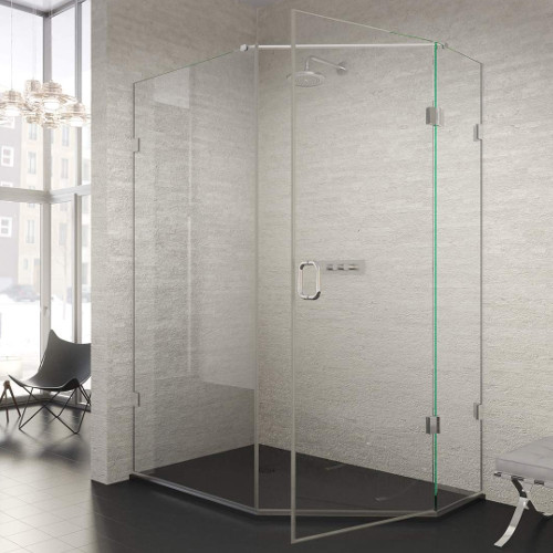 The ShowerLab Pentagon Enclosures