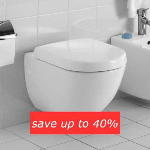 Save up to 40% on toilets in the Summer Sale