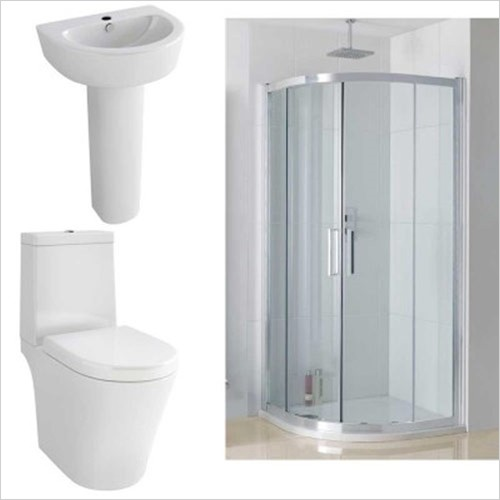 Basin, Toilet _AND_ Shower Suites