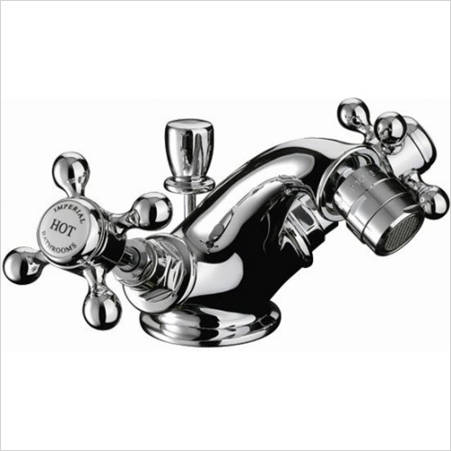 Imperial Bathrooms - Victorian Monobloc Bidet Mixer