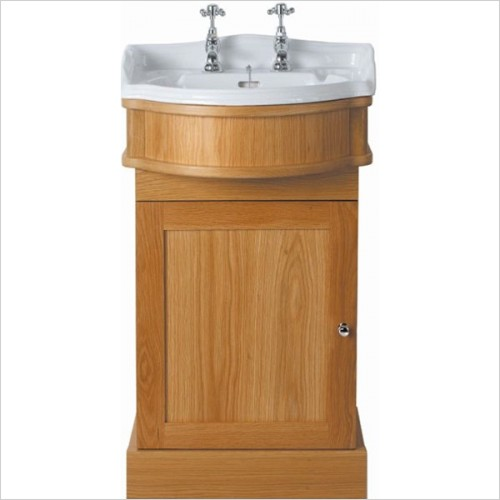 Imperial Bathrooms - Linea Cloak 1 Door Vanity Unit (Colour & Handing Options)