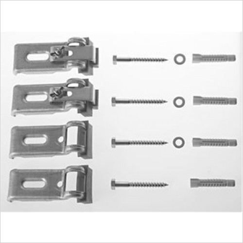 Duravit - Bathtub Anchors 4 Piece