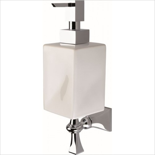 Imperial Bathrooms - Highgate Wall Mounted Soap Dispenser