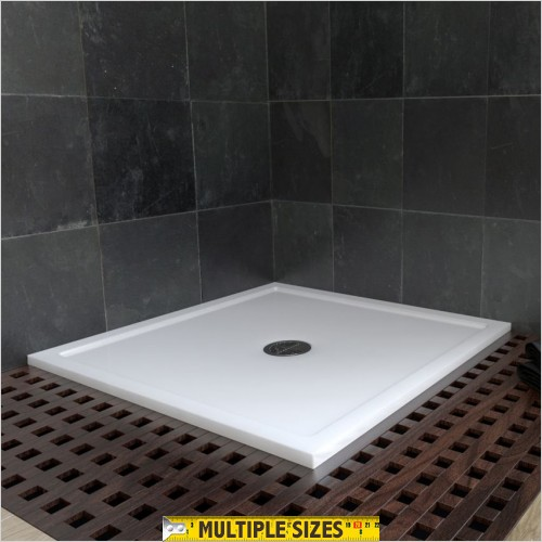 Matki - Continental 40 Square Shower Tray 800 x 800mm