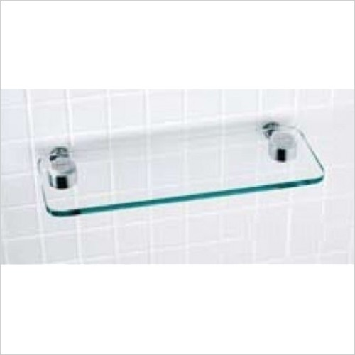 Matki - Elixir Straight Glass Shelf 360.5 x 108mm