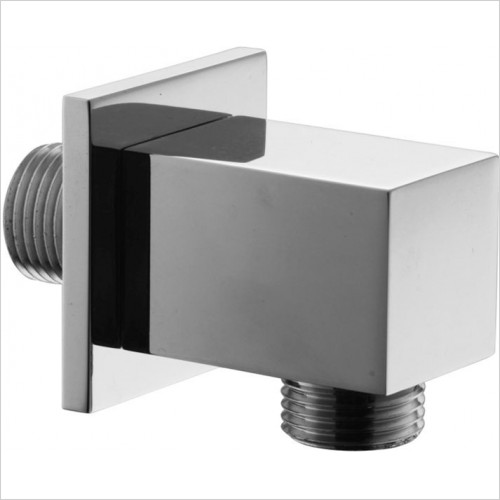 Crosswater - Square Wall Outlet