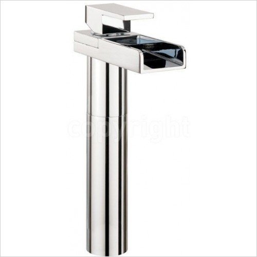 Crosswater - Water Square Lights Tall Basin Monobloc