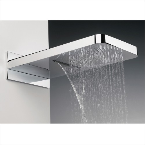 Crosswater - Revive Overhead Shower With Waterfall