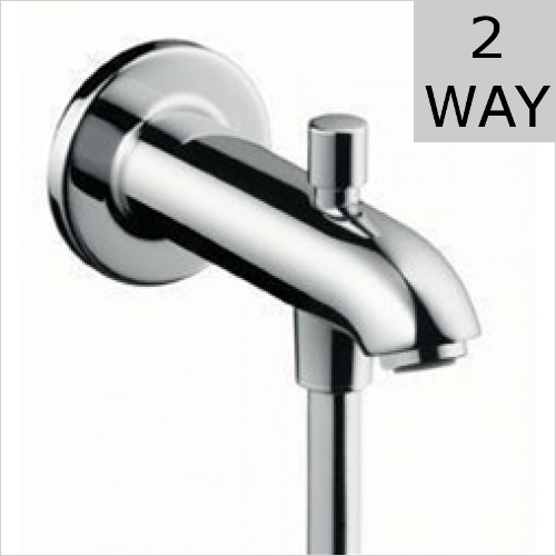Hansgrohe - Tub Spout E/S 152mm With Diverter