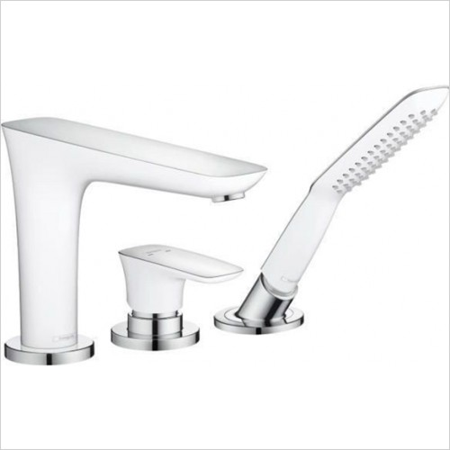 Hansgrohe - PuraVida Rim Mounted 3 Hole Bath Shower Mixer