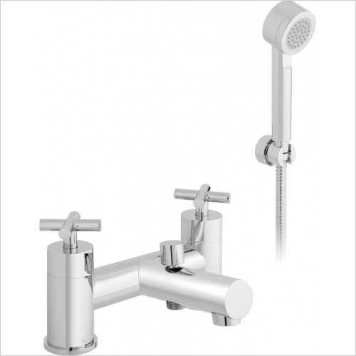 Vado - Elements Bath Shower Mixer With Shower Kit