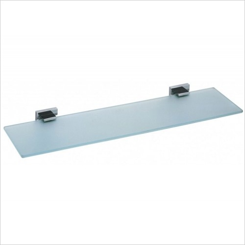 Vado - Level Frosted Glass Shelf 550mm (22'')