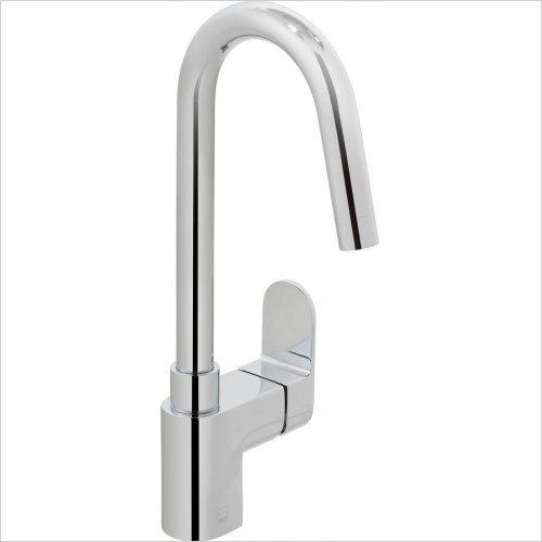 Vado - Life Kitchen Mixer With Swivel Spout
