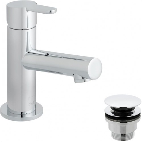 Vado - Sense Mini Mono Basin Mixer With Universal Waste