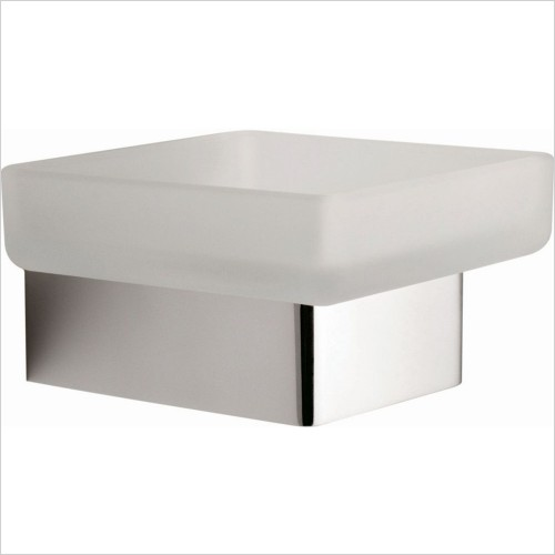 Vado - Shama Frosted Glass Soap Dish & Holder