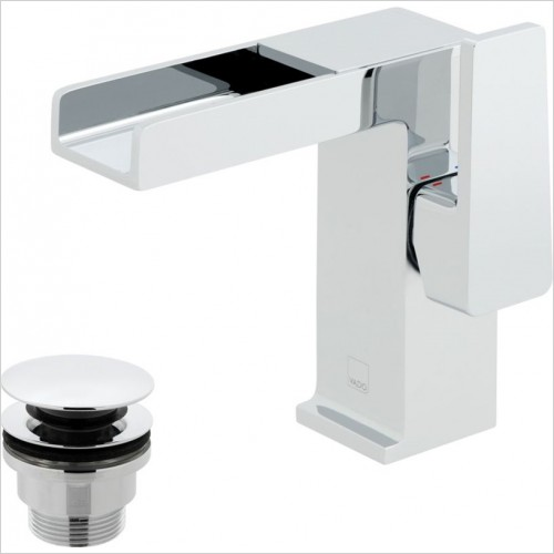 Vado - Synergie Mono Basin Mixer With Universal Waste