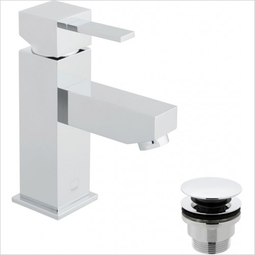 Vado - Té Mono Basin Mixer With Universal Waste