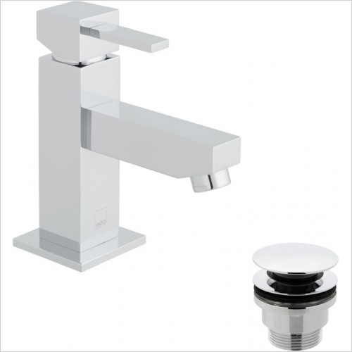 Vado - Té Mini Basin Mixer With Universal Waste