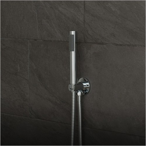 Vado - Zoo Single Function Mini Shower Kit With Integrated Outlet