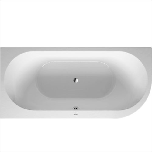 Duravit - Darling New Corner Bath With Panel 1900 x 900mm