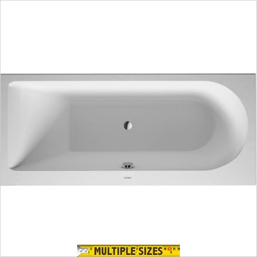 Duravit - Darling New Built In Single Ended Bath - 1600 x 700mm