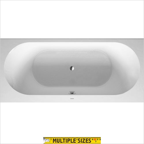 Duravit - Darling New Built In Double Ended Bath 1800 x 800mm