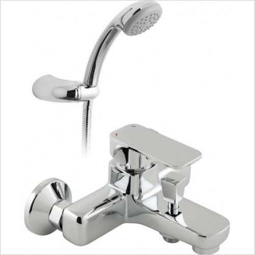 Vado - Phase Bath Shower Mixer With Shower Kit