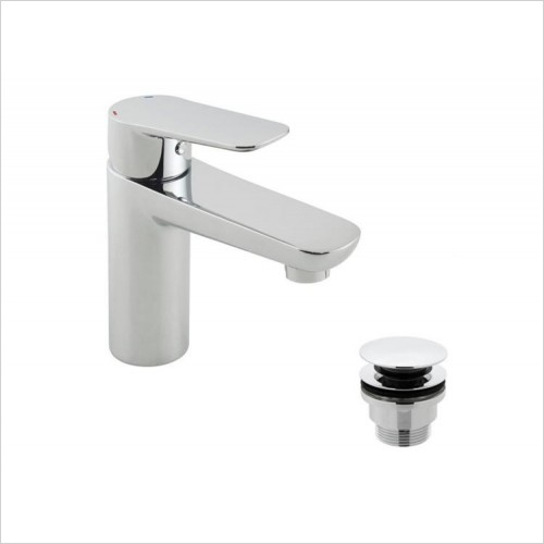 Vado - Photon Mono Basin Mixer With Universal Waste
