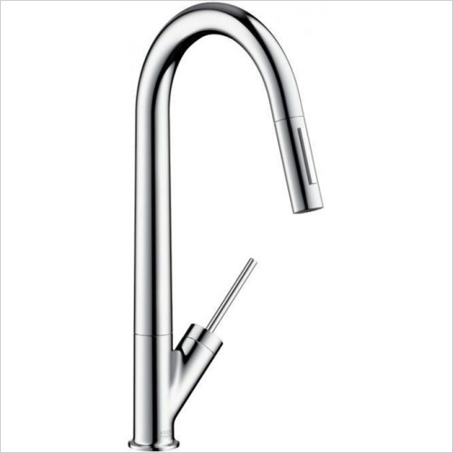 Hansgrohe - Axor Starck Kitchen Mixer With Pull Out
