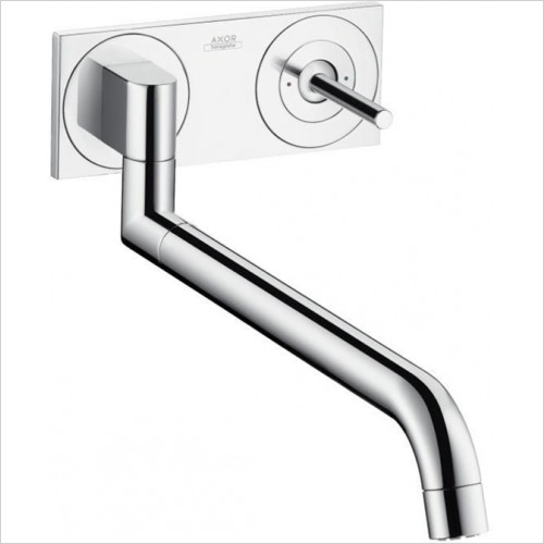 Hansgrohe - Uno2 Lever Kitchen Mixer Wall Mounted