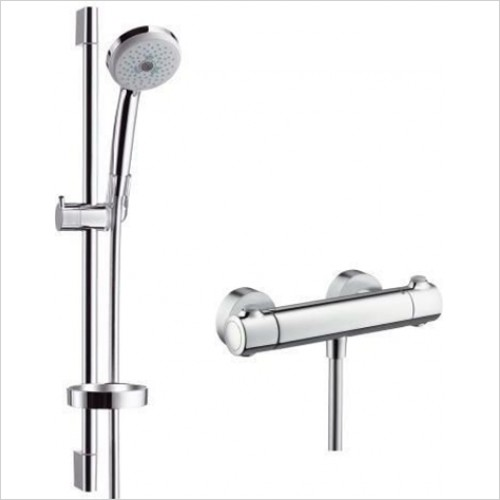 Hansgrohe - Croma 100 Multi Ecostat 1001 Shower Kit