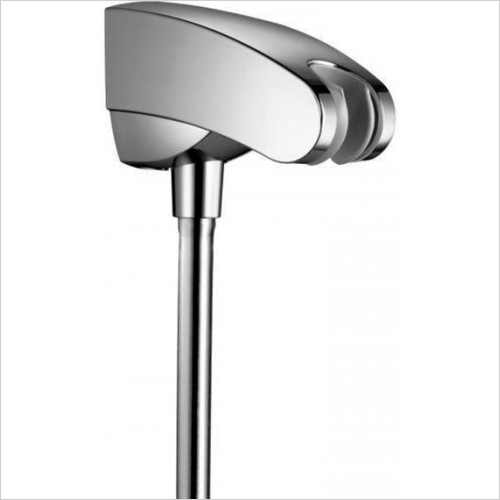 Hansgrohe - Porter'E Shower Holder With Integrated Hose Connection