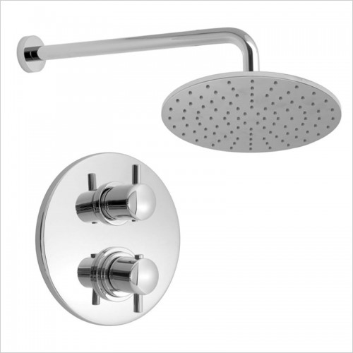 Park Street Bathrooms - Concealed Thermostatic Overhead Shower Kit 1