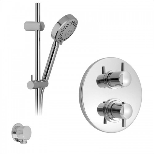 Park Street Bathrooms - Concealed Thermostatic Shower Rail Kit 1