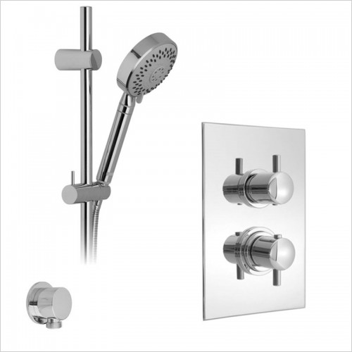 Park Street Bathrooms - Concealed Thermostatic Shower Rail Kit 4