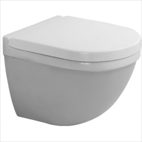 Duravit - Starck 3 Toilet Wall Mounted Compact