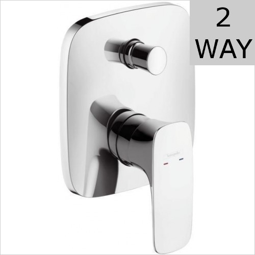 Hansgrohe - Puravida Concealed Manual Valve With Diverter