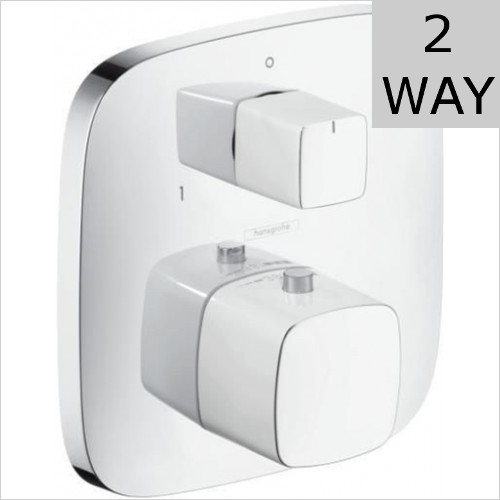 Hansgrohe - Puravida Concealed Thermostatic Valve With Diverter