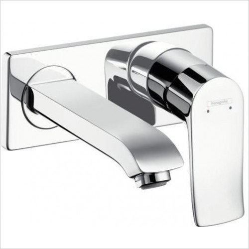 Hansgrohe - Metris Single Lever Basin Mixer, Concealed 165mm Spout